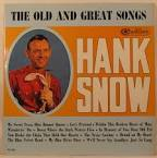 In Memory of You Dear Old Pal by Hank Snow