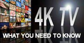4K Ultra High Definition TV - My Cable Mart