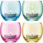 <b>Набор из 4 подсвечников</b> для чайных свечей пастель LSA ...