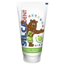 Детская <b>зубная</b> паста <b>Silca Dent</b> со вкусом яблока до 6 лет ...