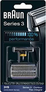 <b>Braun</b> 3-<b>31S</b> Replacement part (Silver): Amazon.ca: Beauty