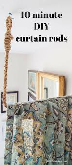 living room dividers ideas attractive: aka build a diy curtain rod in  minutes heathered nest