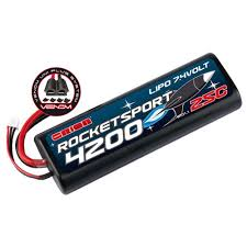 <b>Аккумулятор Team Orion Rocket</b> Sport LiPo 7.4V 2S 25C 4200 mAh ...