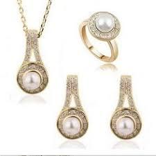 JLB 2014 New Fashion 18K Gold/Silver Plated Imitate Diamond ...