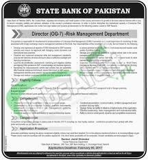 sbp jobs jan for director og online apply latest add if any information found irrelevant on account of candidates and and if any one tries to influence the process of selection so he she will be disqualified