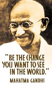 Be the change you seek