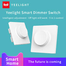 Xiaomi <b>Yeelight Intelligent Bluetooth Dimmer</b> Switch Mi Smart Home ...