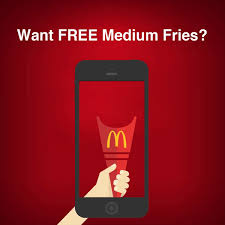 Image result for mcdonalds free medium fries