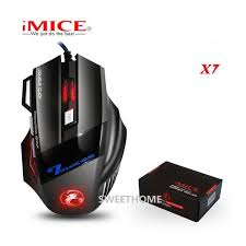 iMICE <b>X7 Wired Gaming Mouse</b> | Shopee Malaysia