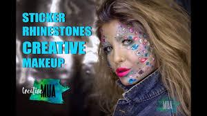 <b>Декоративные</b> элементы в креативном макияже: стразы ...