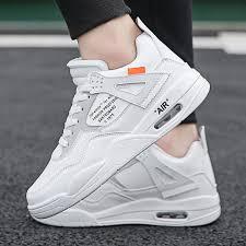 <b>Fashion</b> Sports Shoes Men's Shoes Aj4 <b>Air Cushion</b> Running Shoes ...