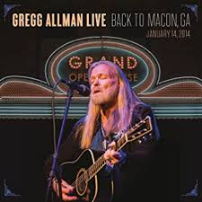 <b>Gregg Allman Live</b>: Back To Macon, GA [2 CD/DVD Combo]