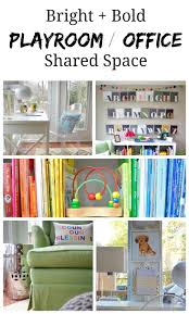 a pic to pin playroom_office_shared_space our playroomoffice amazing playroom office shared space