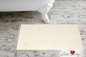 Бежевый <b>коврик для ванной</b> рапсодия цвет: экрю (50х70 см ...