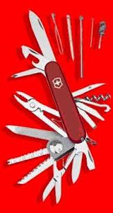 Victorinox swiss champ - офицерский нож victorinox - описание ...
