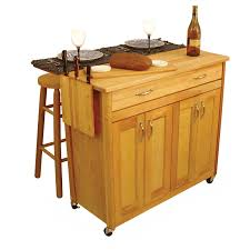 kitchen island mobile: stylish ivory polished oak wood portable kitchen island using brown for mobile kitchen island