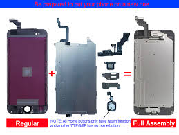 <b>AAA ++</b> For iPhone 6 S Plus LCD <b>Full</b> Assembly <b>Complete</b> 100 ...