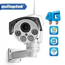 1080P 960P <b>3G 4G</b> SIM Card Camera <b>Wifi</b> Outdoor PTZ HD Bullet ...