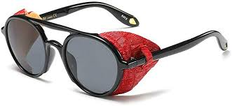 <b>2019</b> New Gothic punk Sunglasses Men Women <b>Fashion</b> Cool <b>Rivet</b> ...