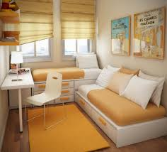 living room mattress: living room breathtaking small floorspace kids rooms white cushion orange seat mattress desk transparant curtain lawngreen gray matress color wooden