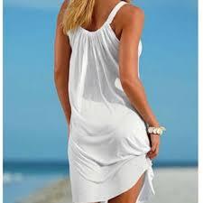 Online Shop <b>Summer Beach Dress</b> Boho Strap Loose Sexy Vest ...
