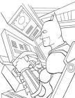 Игры раскраски бэтмена