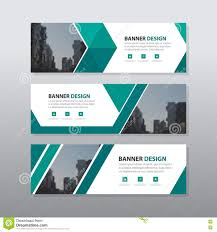 green abstract triangle corporate business banner template green triangle abstract corporate business banner template horizontal advertising business banner layout template flat design