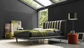 bedroom design ideas brick wall