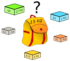 Задача о <b>рюкзаке</b> — Википедия