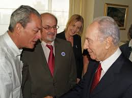 comparison and contrast of paul auster s portrait of an invisible english paul auster salman rushdie and shimon peres at a breakfast honoring i literary