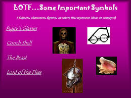 lord of the flies introduction and background    ppt downloadsome important symbols   objects  characters  figures  or colors that represent