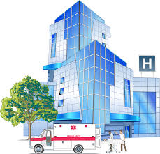 Image result for hospital clipart