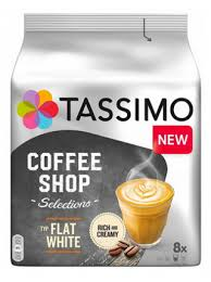 <b>Капсулы Tassimo Coffee</b> Shop Selections <b>Flat</b> White (8 капс.)