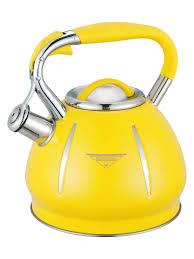 "<b>Чайник</b> со свистком ""MercuryHaus"", <b>3.0 л</b> (желтый) — купить в ..."