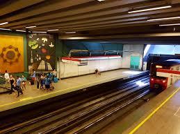 Universidad de Santiago metro station
