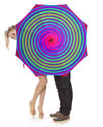 """Зонт-трость с деревянной ручкой """"Радуга-дуга"""" #2690437 от ..."""