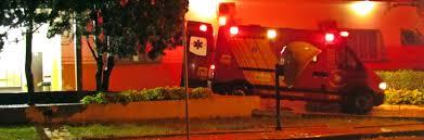 Roncador: Motociclista e garupa sofrem ferimentos em acidente na Avenida São Pedro