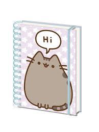 Ежедневник: Pusheen (Pusheen Says Hi) A5 Wiro Notebooks ...