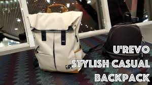 <b>Рюкзак Xiaomi UREVO</b> Energy College Leisure Backpack - YouTube