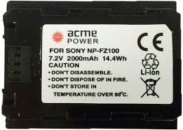 Купить <b>Аккумулятор ACMEPOWER AP</b>-NP-FZ100, для компактных ...