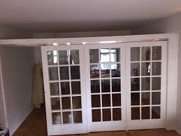 awful office room dividers with doors photo inspirations building home temporary walls sliding french door divider in nyc building home office awful