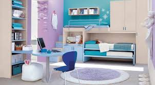 beauteous white color wooden bunk and loft bed with blue sheet and white bookshelves ideas also beauteous pink blue
