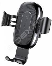 Автомобильный <b>держатель Baseus Wireless Charger</b> Gravity Car ...