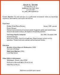 basic resume examples   resumesampler infobasic resume examples sampleresume basic resume examples