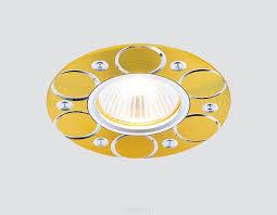 Встраиваемый светильник Ambrella light A808AL/G — купить в ...