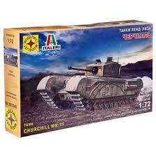 Сборная модель «<b>Танк Черчилль</b>. Серия: танки ленд-лиза ...
