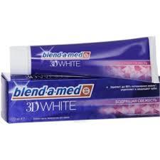 <b>Зубная паста Blend</b>-a-<b>med 3D</b> white Бодрящая свежесть | Отзывы ...
