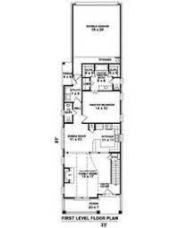 Single Story Narrow Lot House Plans  House Plans For Narrow Lots    Very Narrow Lot House Plans