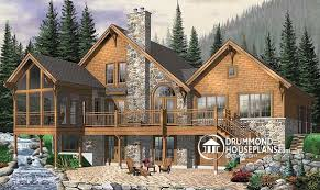 images about Lake House Plans on Pinterest   Walkout       images about Lake House Plans on Pinterest   Walkout Basement  House plans and Home Plans
