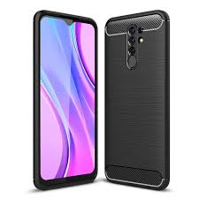 <b>ASLING Carbon Fiber</b> TPU Soft Back Cover Phone Case for Xiaomi ...